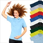 SG - Ladies Poly Cotton Polo