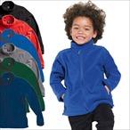 SG - Kids Full Zip Fleece Jacke