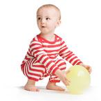 BabyBugz - Gestreifter Babystrampler 'Rompasuit'
