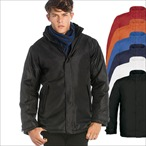 B&C - Mens Heavy Weight Jacket 'Real+ /men'