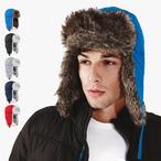 Beechfield - Sherpa Hat - Mütze mit Kunstpelz