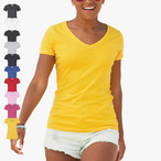 Fruit of the Loom - Lady-Fit T-Shirt 'Valueweight V-Neck T'