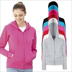 Fruit of the Loom - Premium Lady-Fit Kapuzenjacke