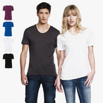 Continental - Unisex T-Shirt mit U-Ausschnitt