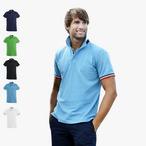 Clique - Kontrast Poloshirt 'Newton'