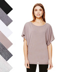 Bella+Canvas - Flowy Drapped Sleeve Dolman Tee
