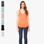 Bella+Canvas - Flowy V-Neck Tank Top