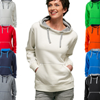 James & Nicholson - Ladies Lifestyle Hoodie
