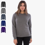 Just Hoods - Damen Pullover 'Girlie Heather Sweat'
