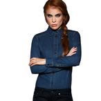 B&C - Damen Jeansbluse 'DNM Vision'