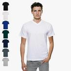 Logostar - T-Shirt mit V-Ausschnitt - Übergrößen bis 8XL