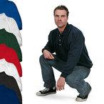 Logostar - Sweatshirt mit Polokragen - bis 8XL