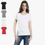 EarthPositive - Women's Rolled Sleeve T-Shirt