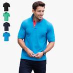 Henbury -Herren Kontrast Pique Poloshirt
