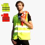 Sicherheits-Warnweste Zertifiziert nach EN471, Klasse 2