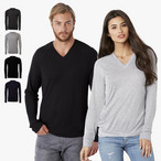 Bella+Canvas - Unisex V-Neck Lightweight Sweater