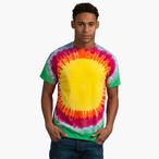 Colortone - Unisex Batik T-Shirt 'Sunburst'