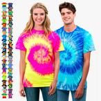Colortone - Unisex Batik T-Shirt 'Swirl'