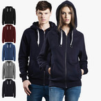 EarthPositive - Unisex Organic Zip-Up Hoodie