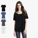 EarthPositive - Women's Tencel Blend Oversized T-Shirt