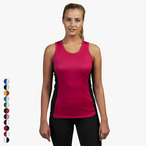 Just Cool - Damen Kontrast Tanktop
