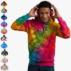 Colortone - Unisex Batik Hoodie 'Rainbow'