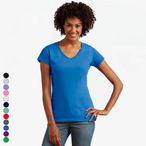 Gildan - Ladies Softstyle V-Neck T-Shirt