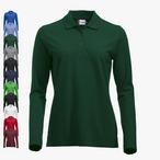 Clique - Damen Langarm Poloshirt 'Classic Marion L/S'