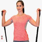 Spiro - Damen Fitness Shirt 'Tech Panel'