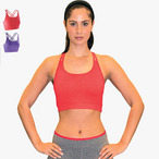 Spiro - Damen Fitness Crop Top