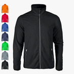 Printer - Sportliche Herren Fleece-Jacke 'Twohands'