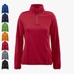 Printer - 'Frontflip Ladies' Fleece halfzip