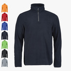 Printer - Herren Fleece- Pullover mit 1/4 Zip 'Frontflip'