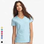 Comfort Colors - Damen V-Neck T-Shirt