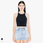 American Apparel - Cotton Spandex Sleeveless Crop Top