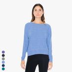 American Apparel - Tri-Blend Rib Light Weight Raglan Pullover