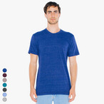 American Apparel - Unisex Tri-Blend Shortsleeve Track T