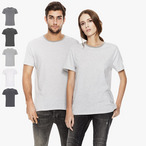 EarthPositive - Unisex Organic T-Shirt gestreift