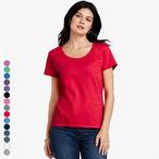 Gildan - Softstyle Ladies Deep Scoop T-Shirt