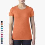 Anvil - Damen Tri-Blend T-Shirt