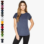 EarthPositive - Damen Stonewash T-Shirt