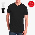 Logostar - Long-Fit V-Neck T-Shirt