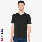 American Apparel - Unisex Fine Jersey V-Neck T-Shirt