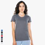 American Apparel - Damen Poly-Cotton T-Shirt