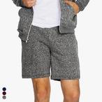 American Apparel - Unisex Salt & Pepper Gym Shorts