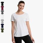 Neutral - Damen Roll-Up-Sleeve T-Shirt
