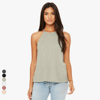 Bella+Canvas - Damen Flowy High-Neck Tanktop