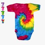 Colortone - Batik Kurzarm Babybody