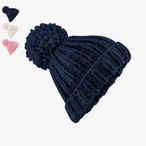 Beechfield - Oversized Hand-Knitted Beanie