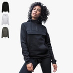 Build Your Brand - Ladies Sweat Pull Over Hoodie bis 5XL